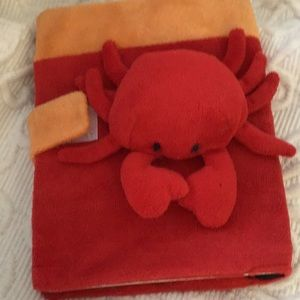 Cute crab notebook